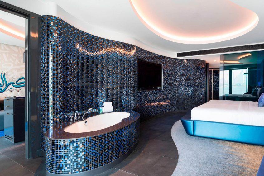 W Dubai The Palm Luxury Resort - Dubai, UAE - Mega Suite Single Room