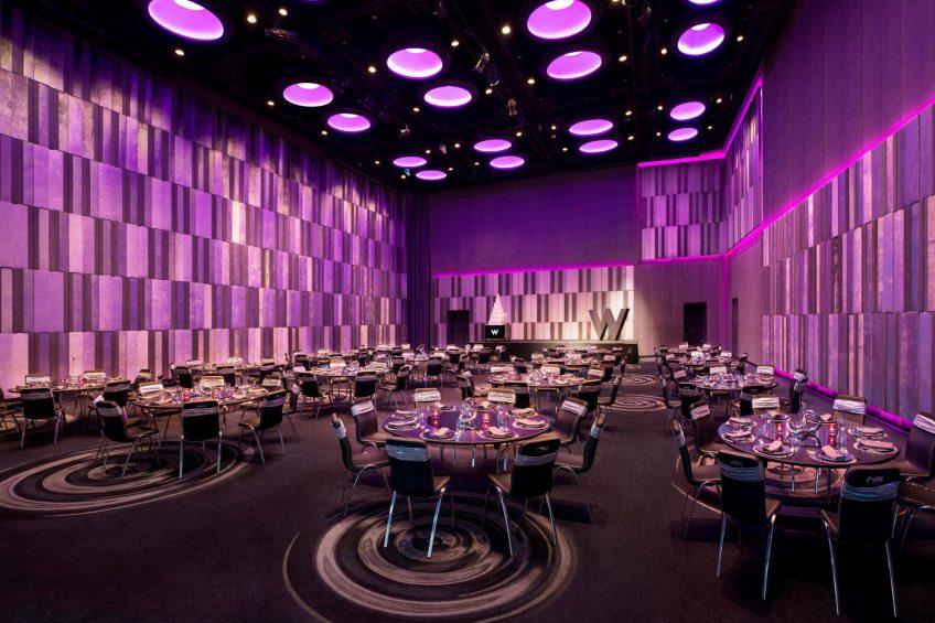 W Bangkok Luxury Hotel - Bangkok, Thailand - Great Room Banquet Setup
