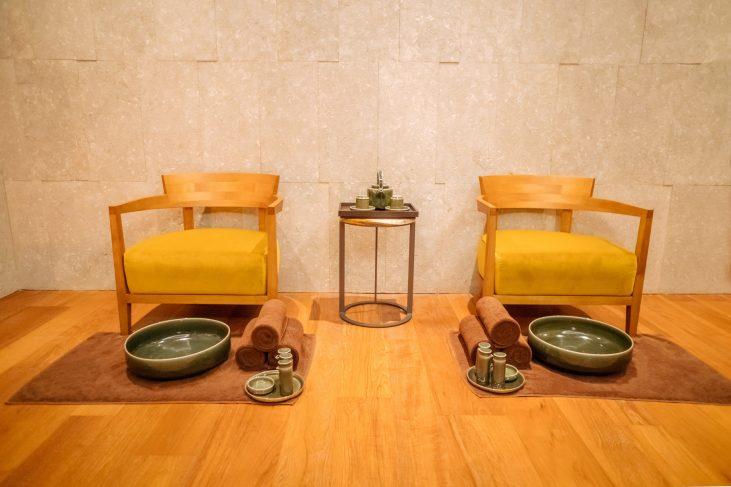 Bvlgari Luxury Hotel Beijing - Beijing, China - The Spa Seating
