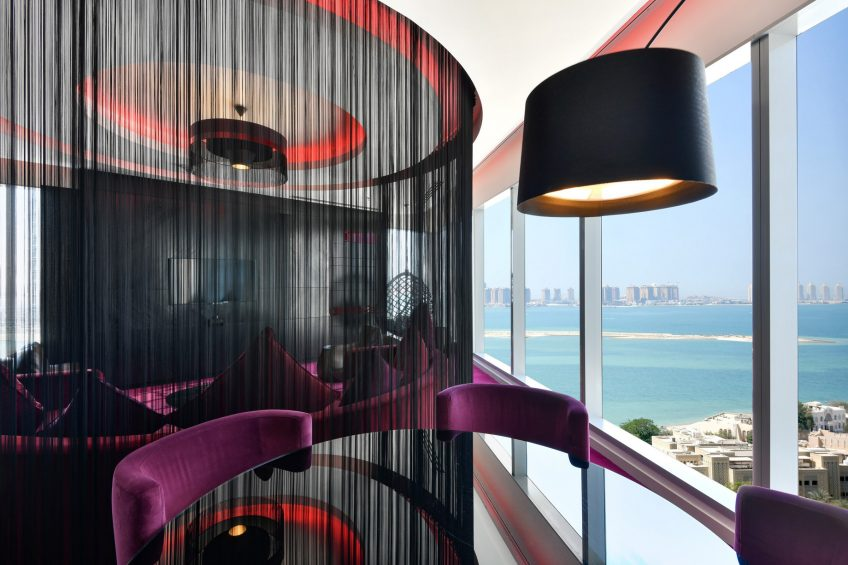W Doha Luxury Hotel - Doha, Qatar - WOW Suite Ocean View