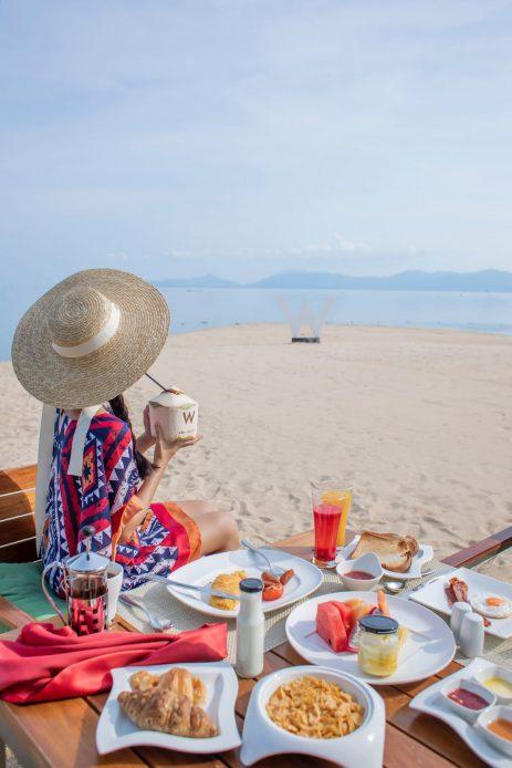 W Koh Samui Luxury Resort - Thailand - W Beach Dining
