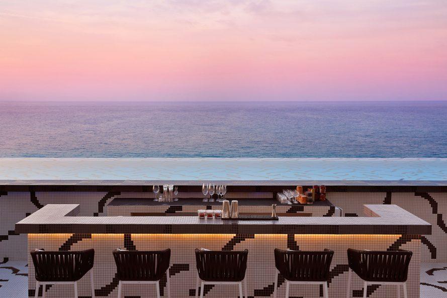 W Muscat Luxury Resort - Muscat, Oman - Siddharta Lounge by Buddha Bar Ocean View Sunset