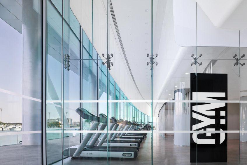 W Abu Dhabi Yas Island Luxury Hotel - Abu Dhabi, UAE - FIT Gym Entrance
