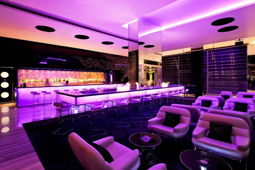 W Bangkok Luxury Hotel - Bangkok, Thailand - WOOBAR Lounge Bar