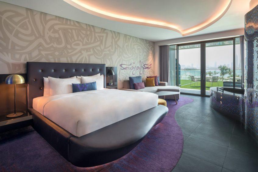 W Dubai The Palm Luxury Resort - Dubai, UAE - Spectacular Terrace Bedroom