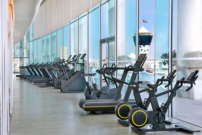 W Abu Dhabi Yas Island Luxury Hotel - Abu Dhabi, UAE - FIT Gym View