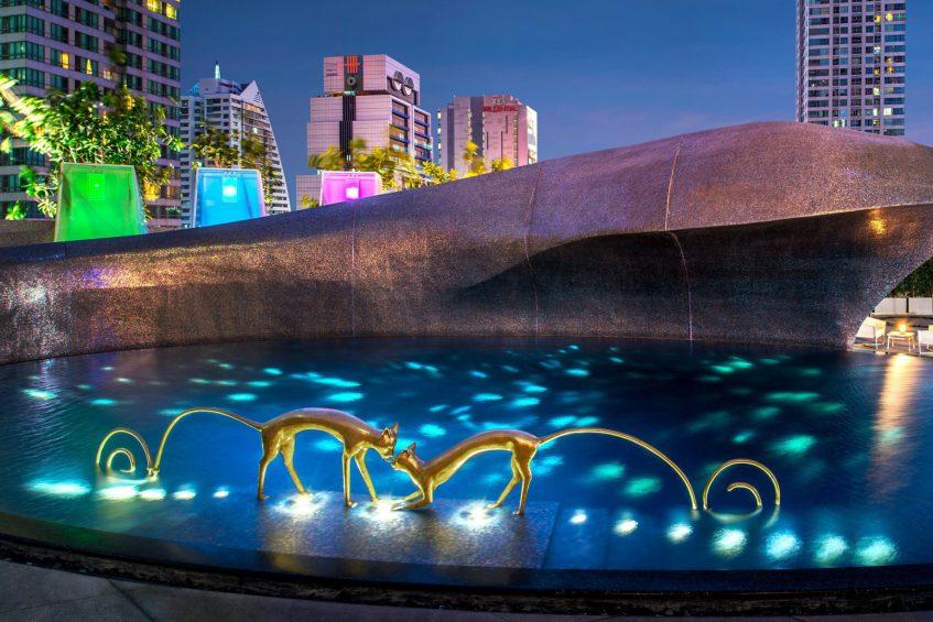 W Bangkok Luxury Hotel - Bangkok, Thailand - WET Deck