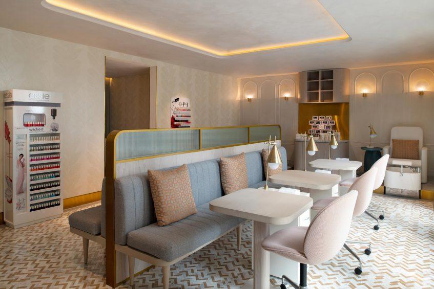 W Doha Luxury Hotel - Doha, Qatar - Sisley Paris Spa Nail Salon