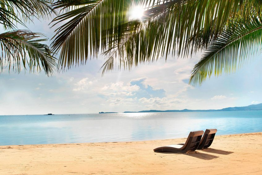 W Koh Samui Luxury Resort - Thailand - W Beach Lounge Chairs