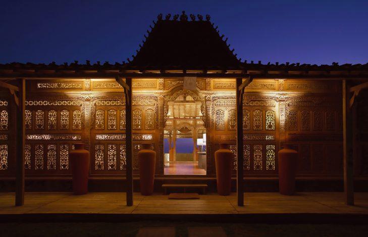 Bvlgari Luxury Resort Bali - Uluwatu, Bali, Indonesia - The Bvlgari Spa Joglo House Night