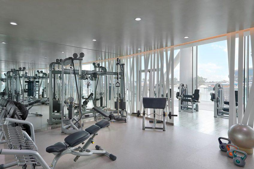 W Abu Dhabi Yas Island Luxury Hotel - Abu Dhabi, UAE - FIT Gym