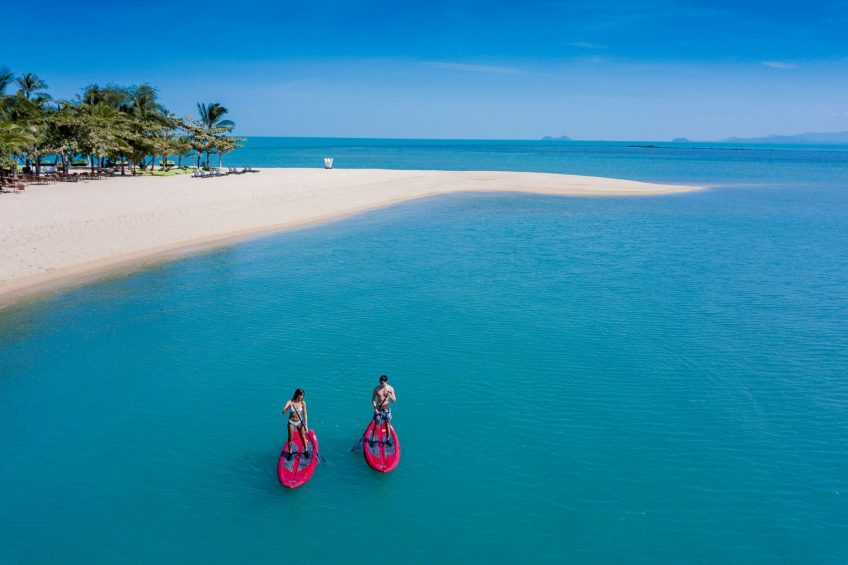 W Koh Samui Luxury Resort - Thailand - W Beach Paddle Boarding