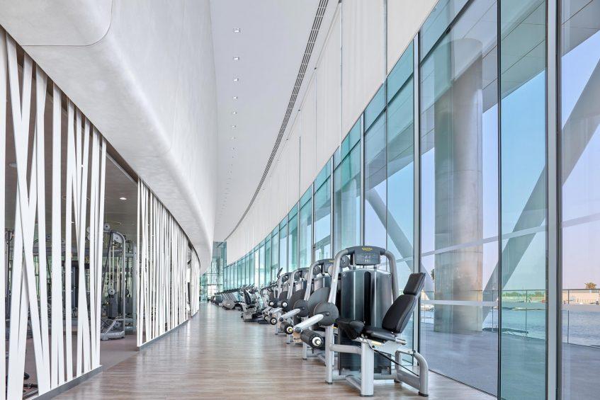 W Abu Dhabi Yas Island Luxury Hotel - Abu Dhabi, UAE - FIT Workout Gym_