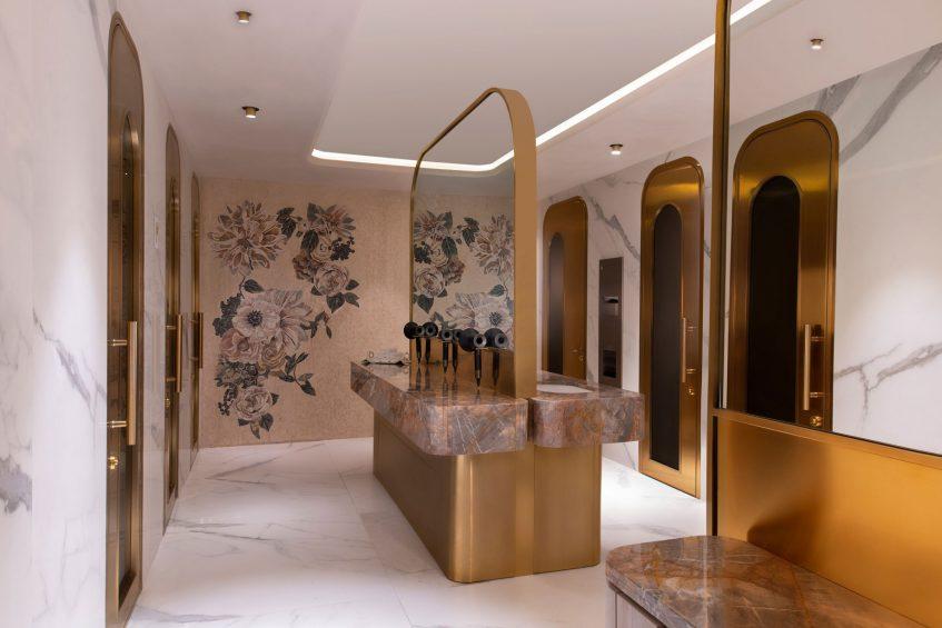 W Doha Luxury Hotel - Doha, Qatar - Sisley Paris Spa VIP Ladies Changing Room