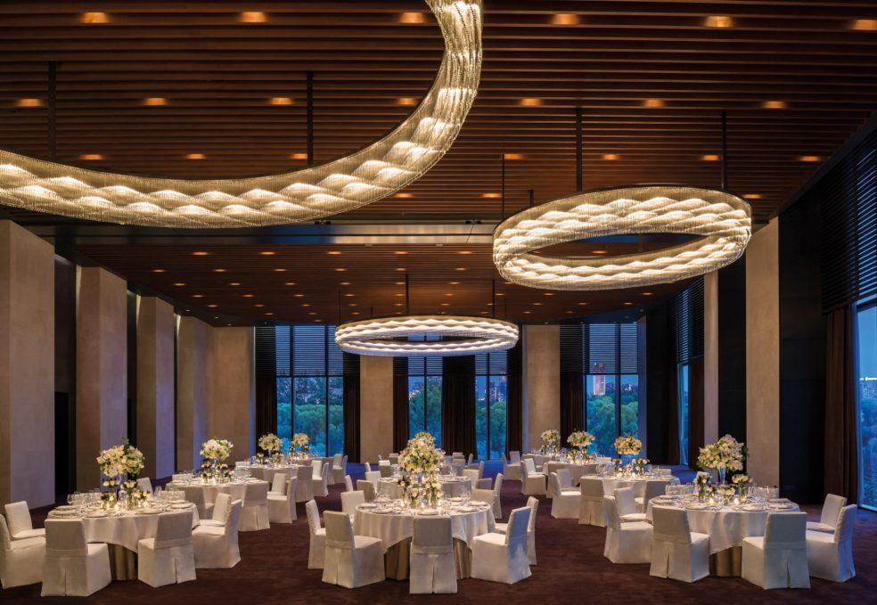 Bvlgari Luxury Hotel Beijing - Beijing, China - Ballroom Night
