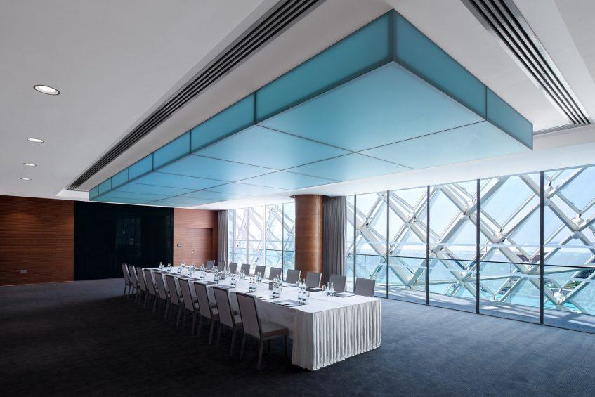 W Abu Dhabi Yas Island Luxury Hotel - Abu Dhabi, UAE - Meeting Room