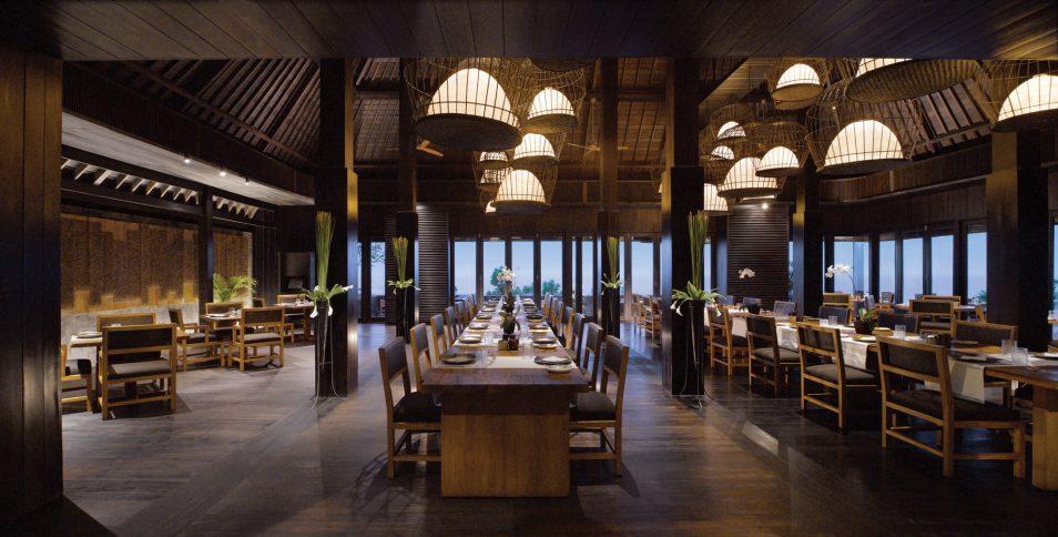 Bvlgari Luxury Resort Bali - Uluwatu, Bali, Indonesia - The Sangkar Restaurant