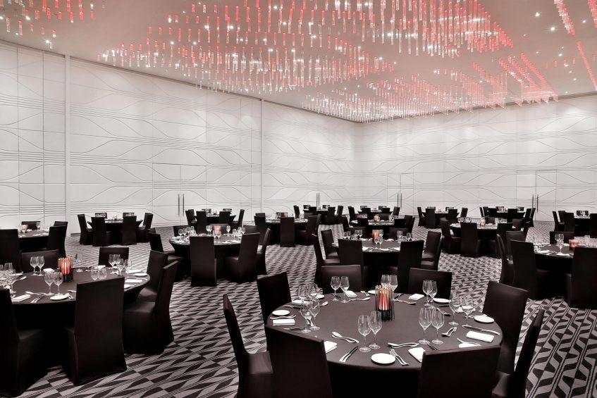 W Abu Dhabi Yas Island Luxury Hotel - Abu Dhabi, UAE - Great Room Cocktail Dinner