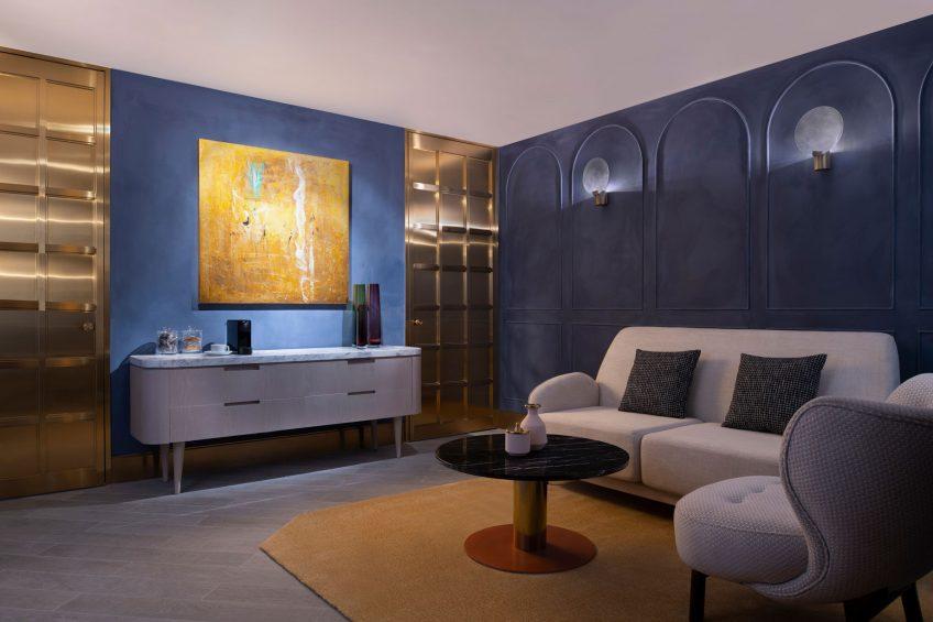W Doha Luxury Hotel - Doha, Qatar - Sisley Paris Spa Waiting Room