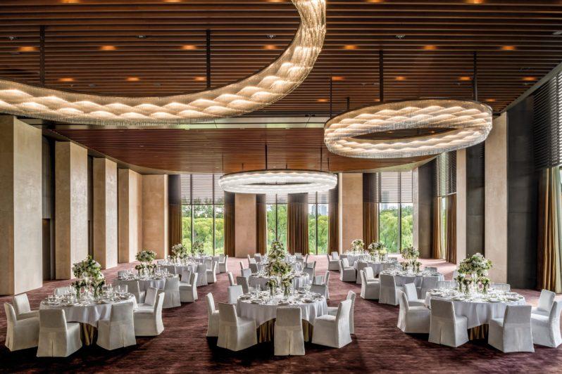 Bvlgari Luxury Hotel Beijing - Beijing, China - The Ballroom