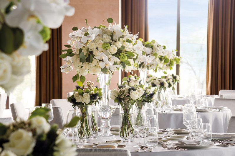 Bvlgari Luxury Hotel Beijing - Beijing, China - The Ballroom Table Decor