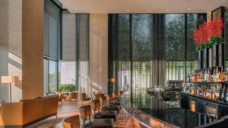 Bvlgari Luxury Hotel Beijing - Beijing, China - The Bar
