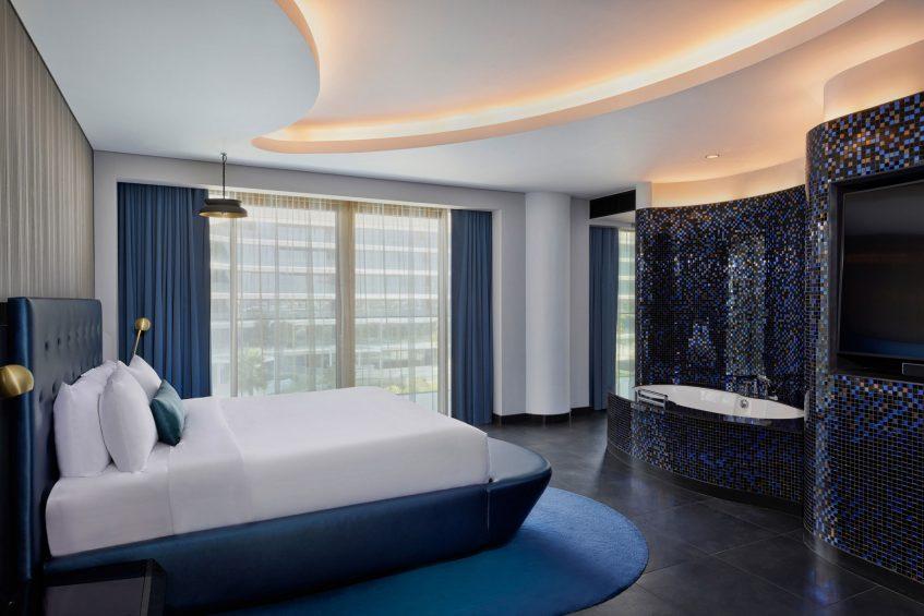 W Dubai The Palm Luxury Resort - Dubai, UAE - W Suite Partial Ocean View