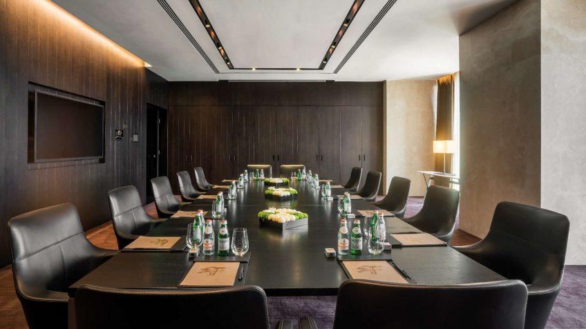 Bvlgari Luxury Hotel Beijing - Beijing, China - Meeting Room