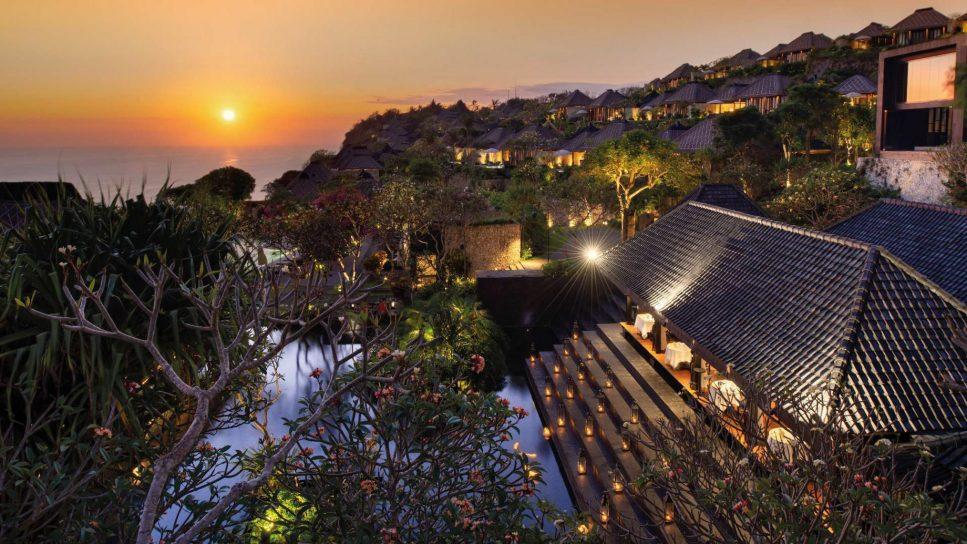 Bvlgari Luxury Resort Bali - Uluwatu, Bali, Indonesia - Resort Ocean View Sunset