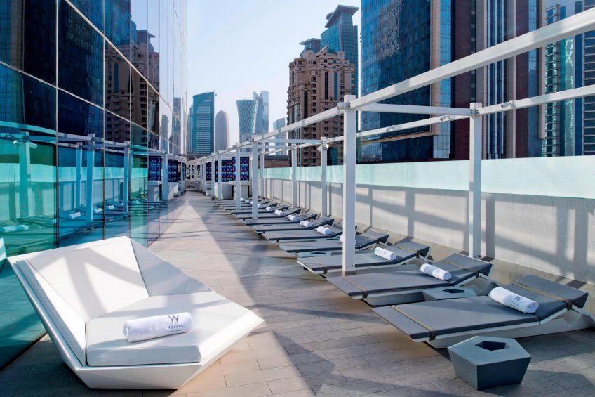 W Doha Luxury Hotel - Doha, Qatar - WET Outdoor Deck
