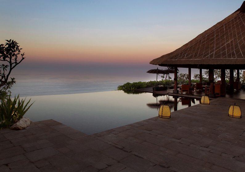 Bvlgari Luxury Resort Bali - Uluwatu, Bali, Indonesia - Bvlgari Bar Ocean View Sunset