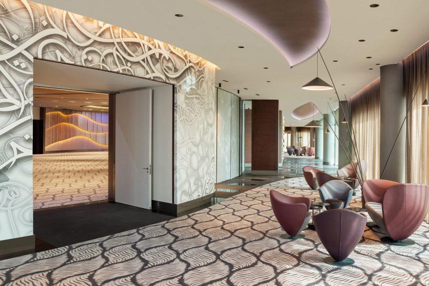 W Dubai The Palm Luxury Resort - Dubai, UAE - Great Room Foyer