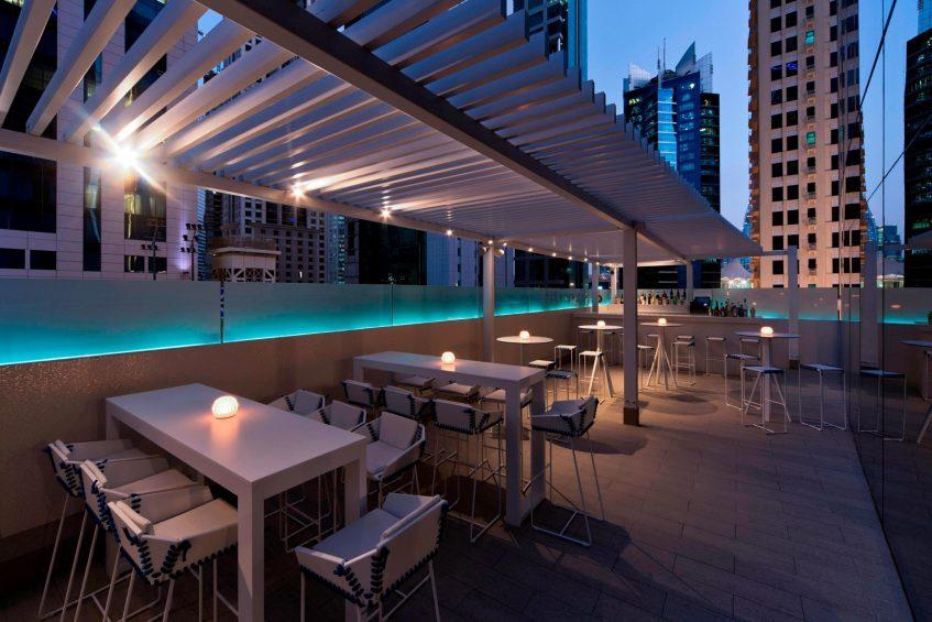W Doha Luxury Hotel - Doha, Qatar - Wahm Outdoor Terrace