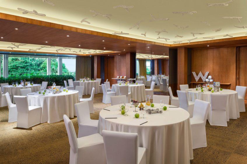 W Koh Samui Luxury Resort - Thailand - Great Room Round Table Setup
