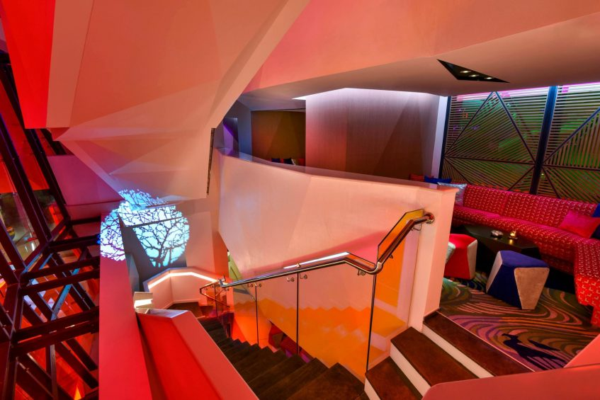 W Amman Luxury Hotel - Amman, Jordan - Aura Lounge Club