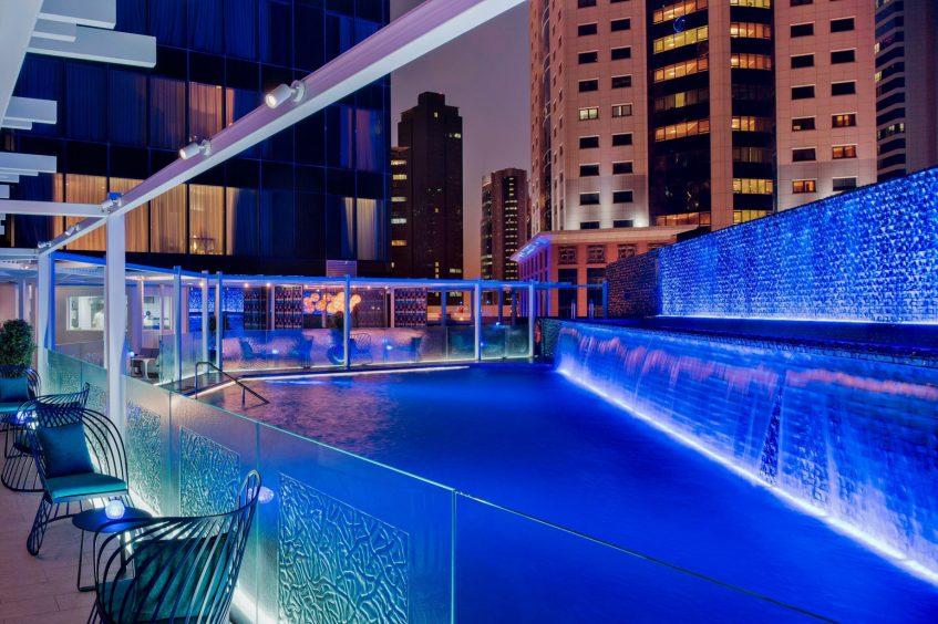 W Doha Luxury Hotel - Doha, Qatar - Wahm Outdoor Pool