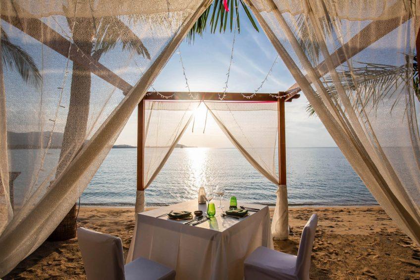W Koh Samui Luxury Resort - Thailand - Sunset Beach Dining