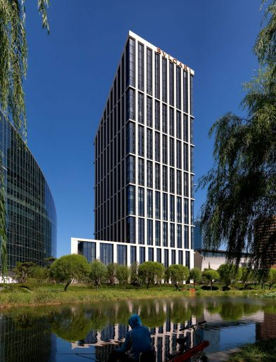 Bvlgari Luxury Hotel Beijing - Beijing, China - Hotel External Water View