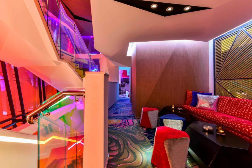 W Amman Luxury Hotel - Amman, Jordan - Aura Lounge