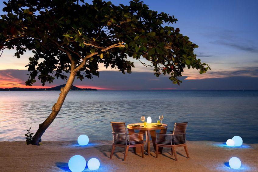 W Koh Samui Luxury Resort - Thailand - Namu Beach Dining