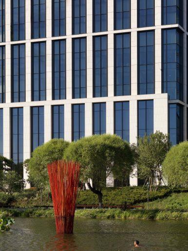 Bvlgari Luxury Hotel Beijing - Beijing, China - The Garden