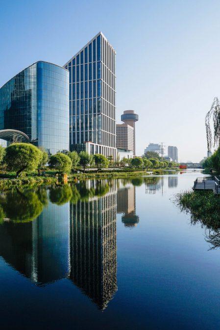Bvlgari Luxury Hotel Beijing - Beijing, China - Tower Water View