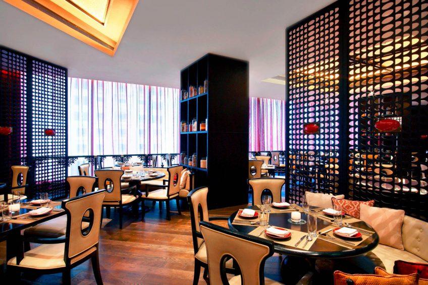 W Doha Luxury Hotel - Doha, Qatar - Spice Market Restaurant Decor
