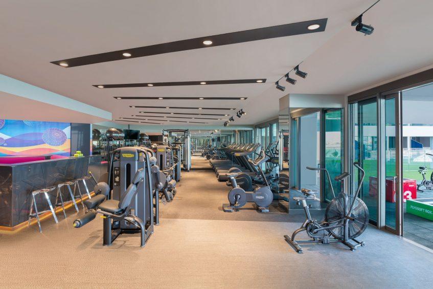 W Dubai The Palm Luxury Resort - Dubai, UAE - FIT Gym