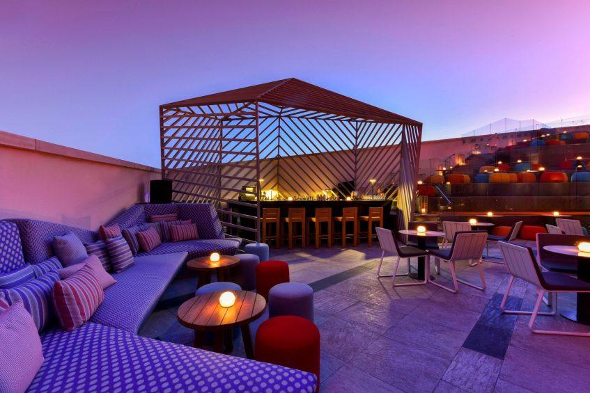 W Amman Luxury Hotel - Amman, Jordan - WET Deck Lounge Bar