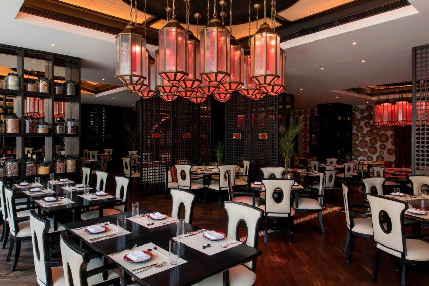 W Doha Luxury Hotel - Doha, Qatar - Spice Market Restaurant Interior