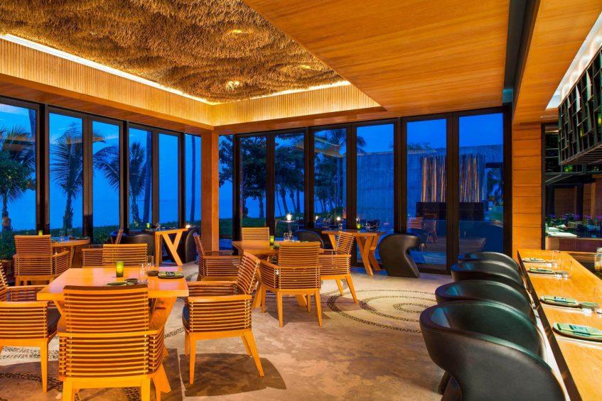 W Koh Samui Luxury Resort - Thailand - Namu Reataurant at Night