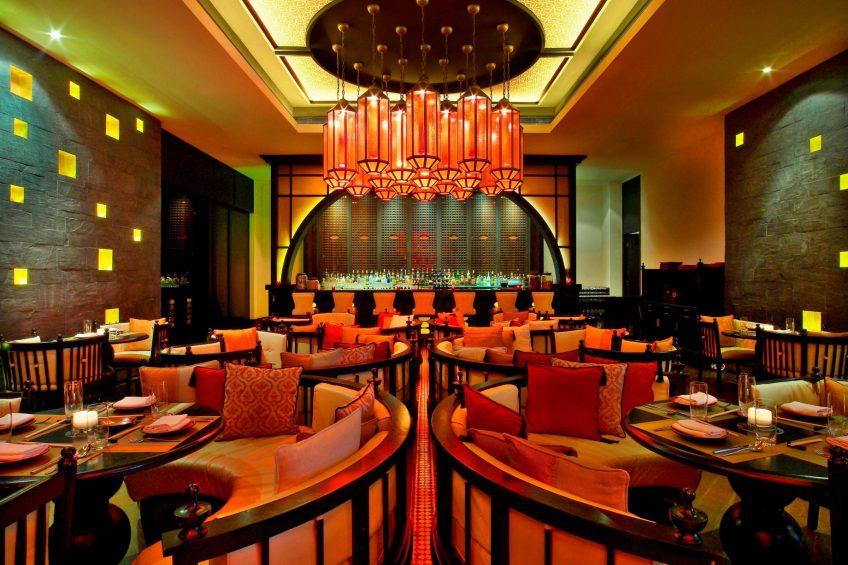 W Doha Luxury Hotel - Doha, Qatar - Spice Market Restaurant Bar