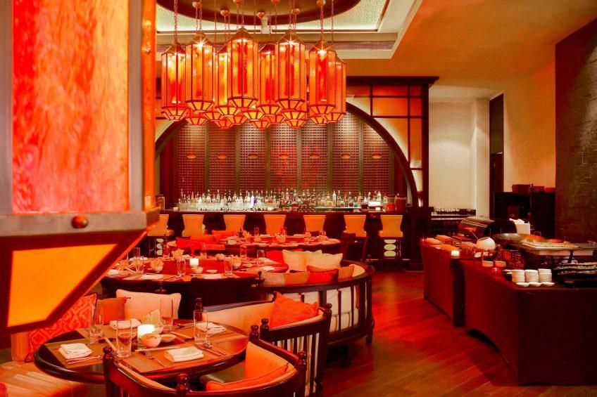 W Doha Luxury Hotel - Doha, Qatar - Spice Market Restaurant Brunch