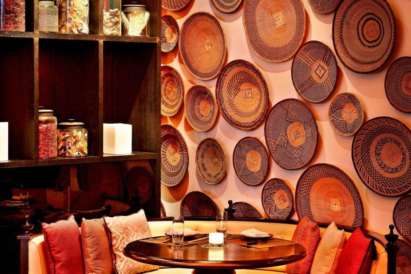 W Doha Luxury Hotel - Doha, Qatar - Spice Market Restaurant Wall Decor
